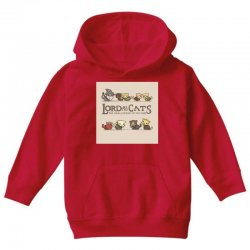 Lord Of The Cats Youth Hoodie | Artistshot