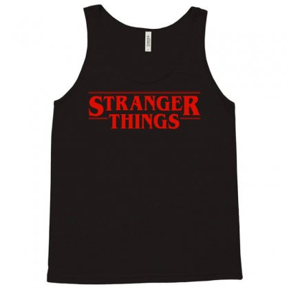 Stranger  Things Tank Top Designed By Eugene