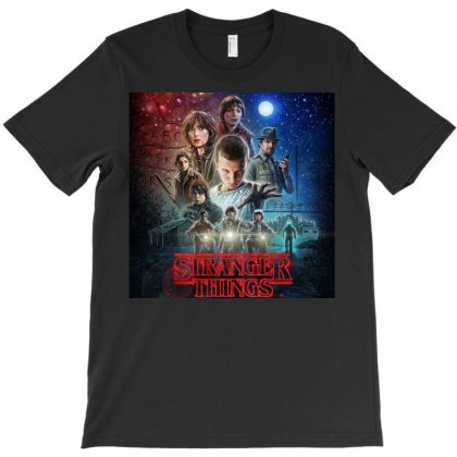 Stranger Things T-shirt Designed By Achmad