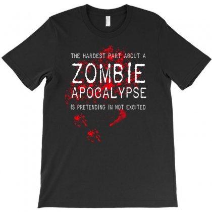 Zombie Apocal Ypse T-shirt Designed By Mdk Art