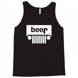 funny jeeps customs logo on men black Tank Top | Artistshot