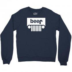 funny jeeps customs logo on men black Crewneck Sweatshirt | Artistshot