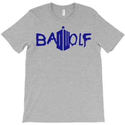 Bad Wolf - Doctor Who T-shirt Designed By Eugene
