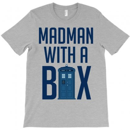 Madman With A Box T-shirt Designed By Eugene