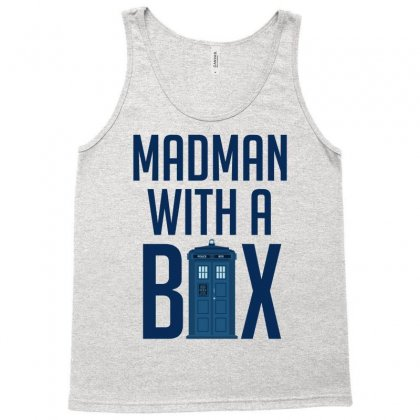 Madman With A Box Tank Top Designed By Eugene