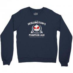 Skellington'spumpkin ale Crewneck Sweatshirt | Artistshot