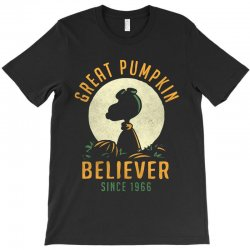 Great Pumpkin Believer T-Shirt | Artistshot