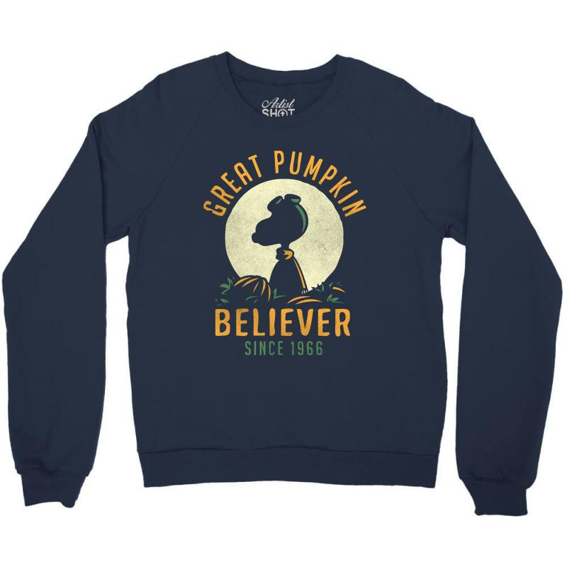 Great Pumpkin Believer Crewneck Sweatshirt | Artistshot