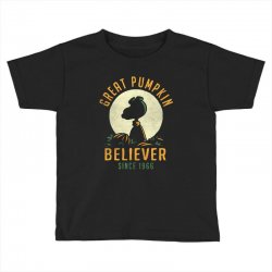 Great Pumpkin Believer Toddler T-shirt | Artistshot
