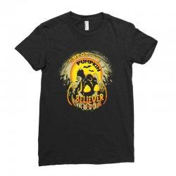Skellington'spumpkin Ladies Fitted T-Shirt   Artistshot