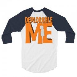 Deprolabe Me 3/4 Sleeve Shirt   Artistshot
