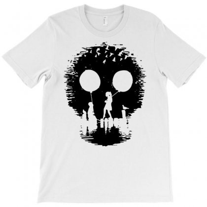 2015 Fashion Print Funny Skull Popular Men   1 T-shirt Designed By Mdk Art