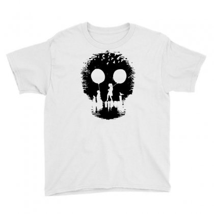 2015 Fashion Print Funny Skull Popular Men   1 Youth Tee Designed By Mdk Art