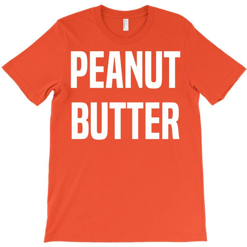 28db16790 Custom Peanut Butter T-shirt By Designbysebastian - Artistshot