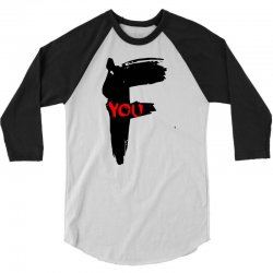 funny mens t shir 'f'yout 3/4 Sleeve Shirt | Artistshot