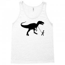 funny t rex pet banksy guys stencil t shirt indie Tank Top | Artistshot