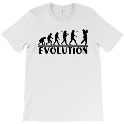 Golf Evolution Funny T Shirt Golfer Humor Tee T-shirt Designed By Mdk Art