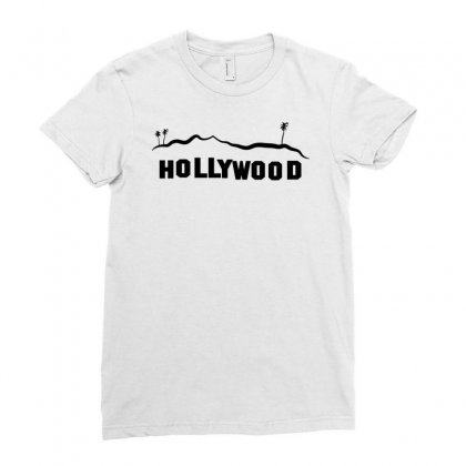 Hollywood Ladies Fitted T-shirt Designed By Manisah