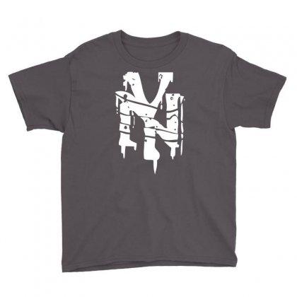 Nyc Drips New York City Stencil Graffiti Street Art Scene Logo Mens T Shirt Youth Tee Designed By Mdk Art