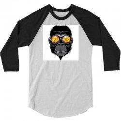 Monkey Cool 3/4 Sleeve Shirt | Artistshot