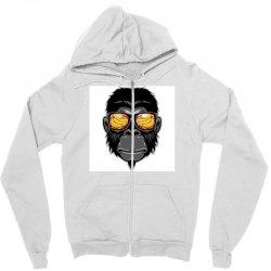 Monkey Cool Zipper Hoodie | Artistshot