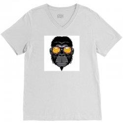 Monkey Cool V-Neck Tee | Artistshot