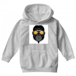 Monkey Cool Youth Hoodie | Artistshot