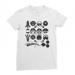 Out Space Ladies Fitted T-Shirt | Artistshot