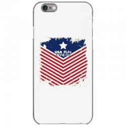 USA Flag Vector iPhone 6/6s Case | Artistshot