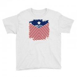 USA Flag Vector Youth Tee | Artistshot