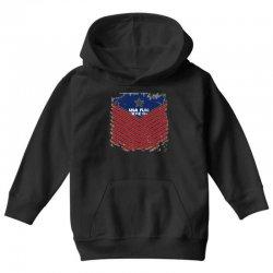 USA Flag Vector Youth Hoodie | Artistshot