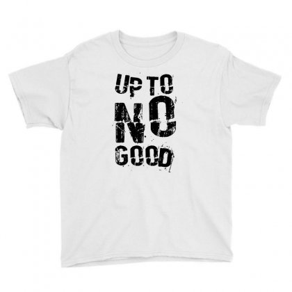 Up To No Good Youth Tee Designed By Mdk Art