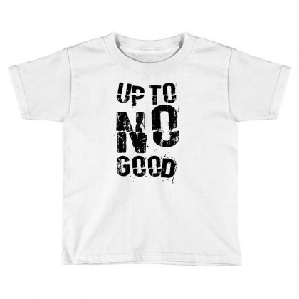 Up To No Good Toddler T-shirt Designed By Mdk Art