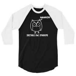 irritable owl syndrome 3/4 Sleeve Shirt | Artistshot