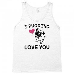 love you  pug Tank Top | Artistshot