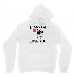 love you  pug Unisex Hoodie | Artistshot