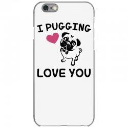 love you  pug iPhone 6/6s Case | Artistshot