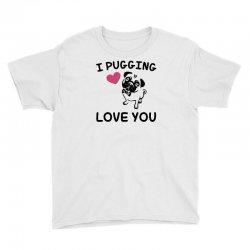 love you  pug Youth Tee | Artistshot
