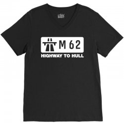 m62 highway to hull V-Neck Tee | Artistshot