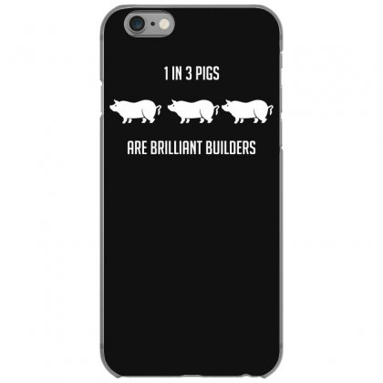 One In Three Pigs Are Brilliant Builders Iphone 6/6s Case Designed By Gematees