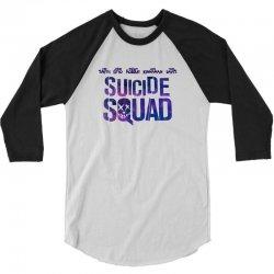 Suicide Squad 3/4 Sleeve Shirt   Artistshot