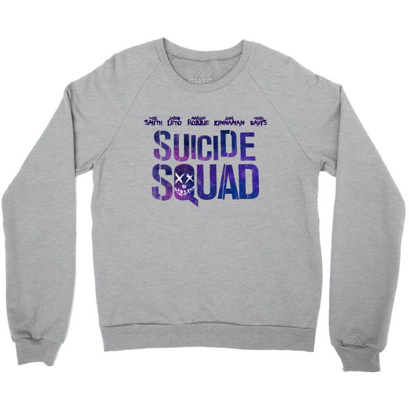 Suicide Squad Crewneck Sweatshirt   Artistshot