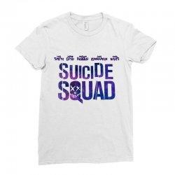 Suicide Squad Ladies Fitted T-Shirt   Artistshot