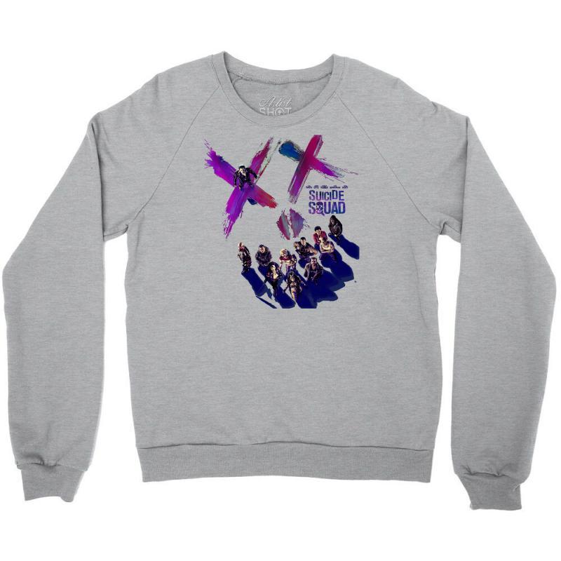 Suicide Squad Crewneck Sweatshirt | Artistshot