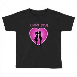 I love you Toddler T-shirt | Artistshot