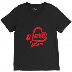 I love mom V-Neck Tee | Artistshot