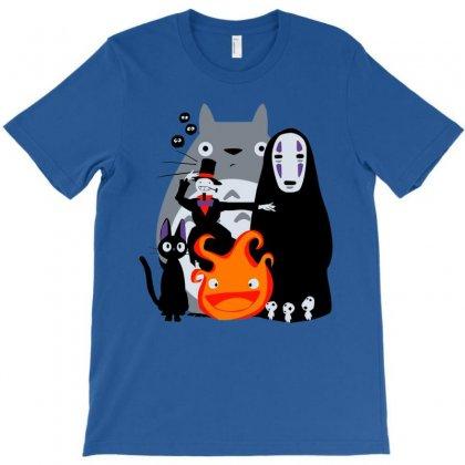 Ghibli'd Away T-shirt Designed By Oedin