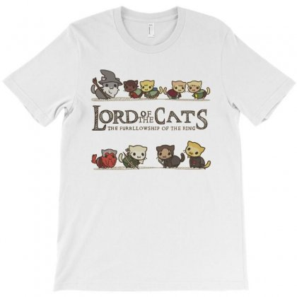Lord Of The Cats T-shirt Designed By Oedin