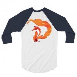 Fox 3/4 Sleeve Shirt | Artistshot