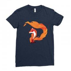 Fox Ladies Fitted T-Shirt | Artistshot